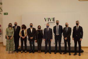 Inauguración de las nuevas instalaciones VIVEbiotech
